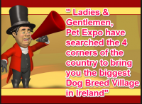 Dog Breed Village Pet Expo